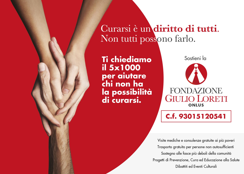 5x1000 Fondazione Giulio Loreti